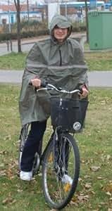 Lluvia de bicicleta del cabo oliva