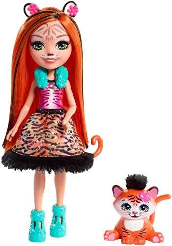 Enchantimals FRH39 - Tigermädchen Tanzie Tiger Puppe
