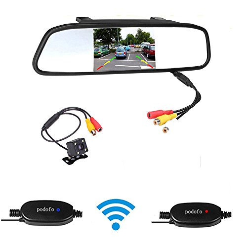 Podofo Wireless Backup Camera 4.3