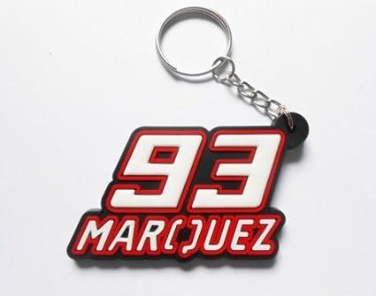Keychains llavero - 93 Márquez - Marc Márquez - Red White ...