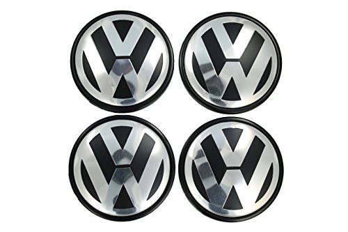 Votex Volkswagen Beetle, Golf, Jetta, Polo, R32-56MM Hubcap Wheel Center Caps - Part Number 1J0 601 171 (4 Pieces)