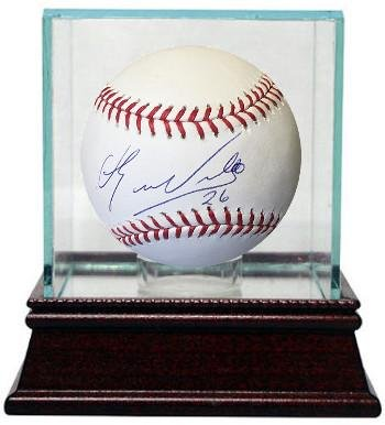 0f627c636 Image Unavailable. Image not available for. Color  Eduardo Nunez  Autographed Baseball - Rawlings Official Major League  26 w Glass Case ...