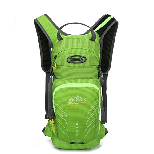 TaoMi- Mochila al aire libre - multi-propósito de viaje de bicicletas bolsa de viaje bolsa de hombres y mujeres al aire libre mochila impermeable bolso de escalada ( Color : Azul , Tamaño : 20L ) Verde