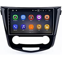 SYGAV Android 7.1.1 Nougat Car Stereo 2G RAM for 2014-2015 Nissan Qashqai Radio 10.2 Inch Touch Screen GPS Sat Navigation Audio FM AM LCD Monitor Head Unit