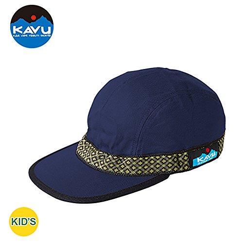 湿気の多い非難する複数カブー KAVU キッズ ストラップキャップ プルシアンブルー ワンサイズ 11864404917005