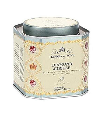 d Jubilee Black Tea with Bergamot and Citrus Tea 30 Sachets ()