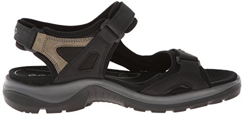 Ecco Offroad, Sandales de Sport Noir (black/mole/black O.nub/o.nub/tex50034)