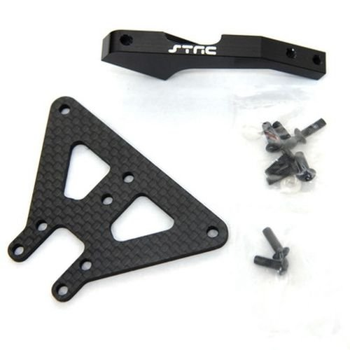 ST Racing Concepts STA80101FBK Aluminum and Graphite Front Chassis Brace for The Exo Buggy, ()
