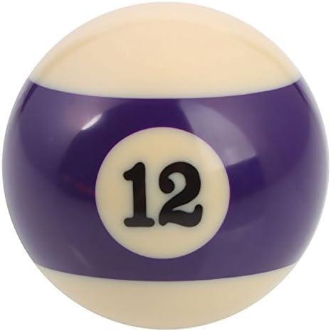 Mzamzi - Gran valor bolas de billar número 12 billar bola: Amazon.es: Deportes y aire libre