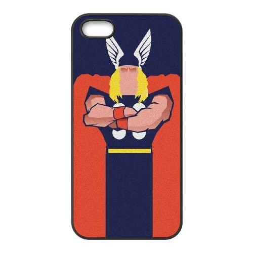 T8U28 Thor Odinson Dieu du Tonnerre T2U1WN coque iPhone 4 4s cellulaire cas de téléphone couvercle coque noire IG6GJK5RC