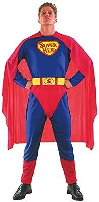 El Carnaval Disfraz Superman Adulto: Amazon.es: Juguetes y juegos