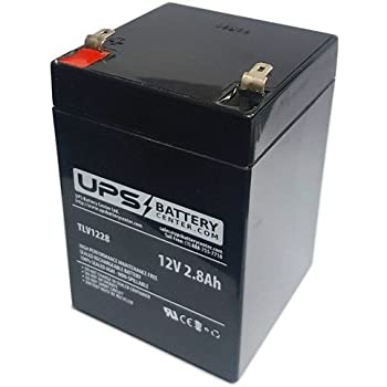 12v 2 8ah f1 sla replacement battery for lsi. Black Bedroom Furniture Sets. Home Design Ideas