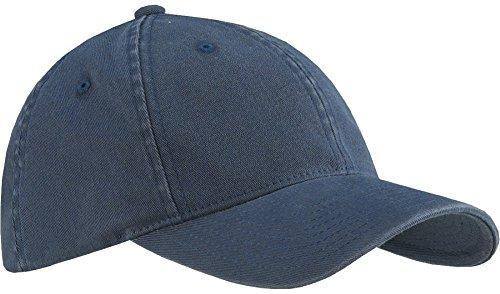- Flexfit 6997 Low Profile Garment Washed Cotton Cap - Small/Medium (Navy)