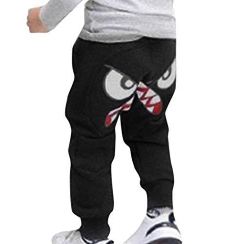 Toddler Baby Kids Boys Girls Cartoon Bird Tongue Hip-Hop Harem Pants Trousers Sweatpants