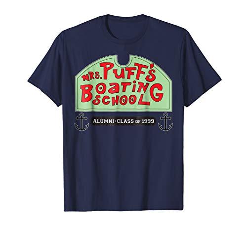 Spongebob Squarepants Mrs Puffs Boating School T-Shirt