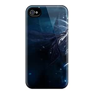 Ipod Touch 4 , Premium Protective Cases With Awesome Look - World Of Warcraft Death Knight
