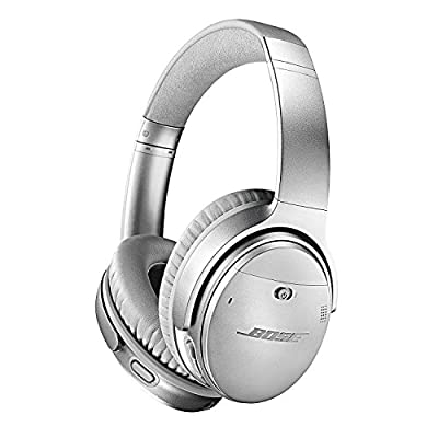 Bose QuietComfort 35 (Series II) Wireless Headphones, Noise Cancelling - Silver (Certified Refurbished)