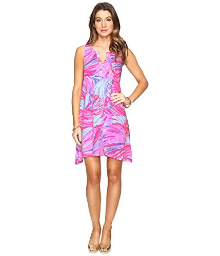 Lilly Pulitzer Women's Havana Dress Magenta Oh My Guava Dress