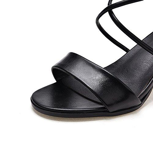 BalaMasa Bout Ouvert Femme - Noir - Noir, 36.5 EU