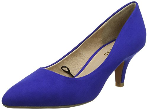 Lotus Damen Clio Pumps Blue (Blue Microfibre)