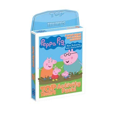 Top Trumps Paquete de Actividades de Peppa Pig, Activity Tin ...