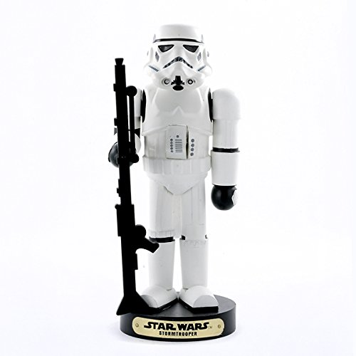 Kurt Adler SW6101L Star Wars Nutcracker, Storm Trooper, 11-Inch