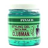 Clubman Style Gel Hard To Hold 473 ml Jar For Men (Haargel) Bild