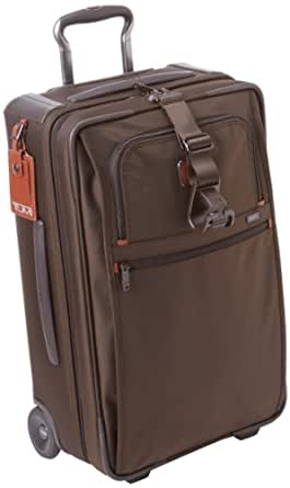 Tumi 2 Alpha Frequent Traveler Wheel Carry-On, Espresso, One Size