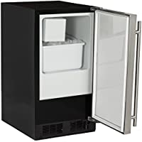Marvel MA15CRS1RS ADA Ice Machine with Right Hinge Door, 15-Inch, Stainless Steel