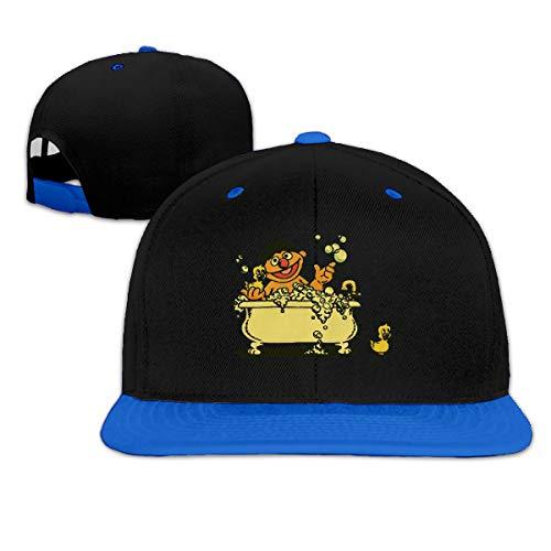 Puyiyua Rock Punk Baseball Cap Vintage Ernie in Bathtub Unisex Trucker Hat Hip-hop Snapback - Bathtub Ernie