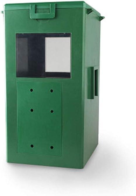 LOVEPET Alimentador De Koi Dispositivo De Alimentación Automática para Acuarios. Lluvia Exterior Estanque Jardín Gota Máquina Gran Capacidad 3L.: Amazon.es: Deportes y aire libre