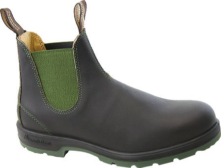 Blundstone Super 550 Series Boot,Stout Brown/Olive,AU 3.5 M