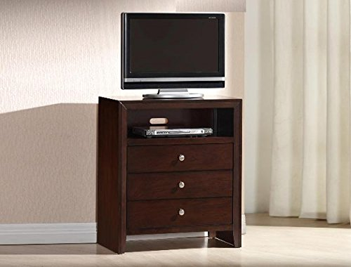 Brand New 31.5''x16.5''x36''H Evan Media Chest /TV Stand