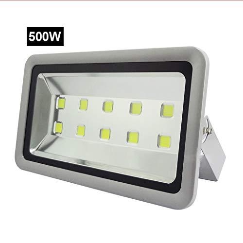 (LED Flood Light Outdoor Work Light Waterproof Lightning Protection IP65 Stadium Engineering Lights Advertising Lights (Color : 500W, Size : Warm white light))