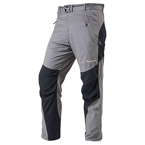 Montane Men's Terra Pants Graphite Large by MONTANE