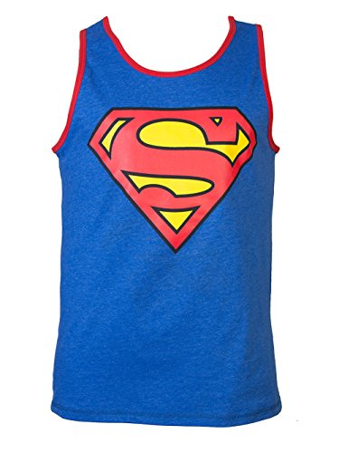 Superman+tank+tops Products : Mens Superman Reversible Tank Top