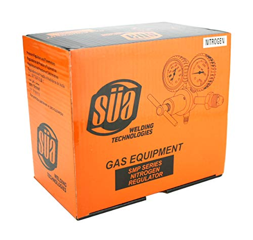 SÜA - Nitrogen Gas Regulator 0-600 PSIG - HVAC Purging - Pressure Charge - 1/4'' Flare Connector by SÜA (Image #3)
