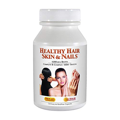 Andrew Lessman Healthy Hair, Skin & Nails, 120 Capsules