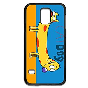 CatDog Non-Slip Case Cover For Samsung Galaxy S5 - Quotes Shell