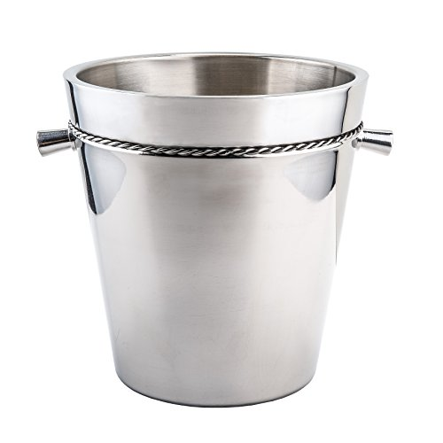 Double Walled Cooler (Old Dutch International Double-Walled Wine Cooler, Stainless Steel)