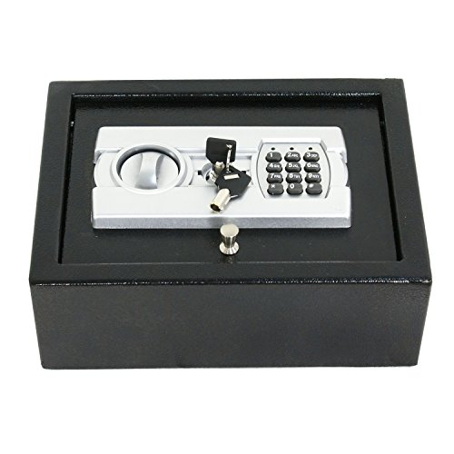 ZENY Electronic Security Safe Digital Lock Fire Proof Jewelry Cash Gun Box (DS30EU)