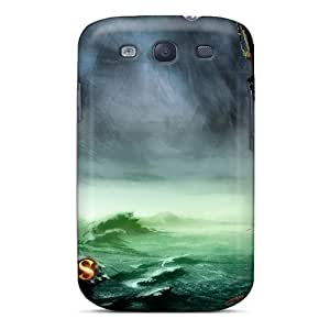 Zheng caseHFrTiLV1082UBItO Cynthaskey Awesome Case Cover Compatible With Galaxy S3 - Guildwars Factions