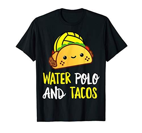 Water Polo Tacos Tshirt Women ball Shirt Men Christmas Gift