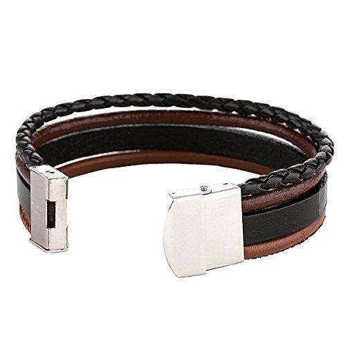 e888aa5e6b4d3 Leather Dondon 4 1 Men's in Bracelet xCCqIrw in gautier-patisserie.com