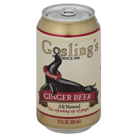 Gosling's Ginger Beer 12 Oz. Can, 24 Count