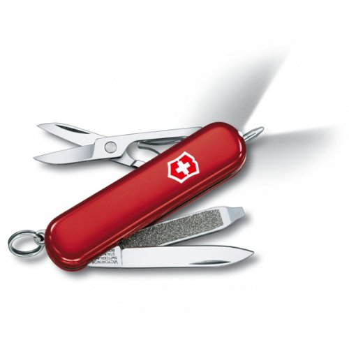 Victorinox Swiss Army Signature Lite Pocket Knife, Red