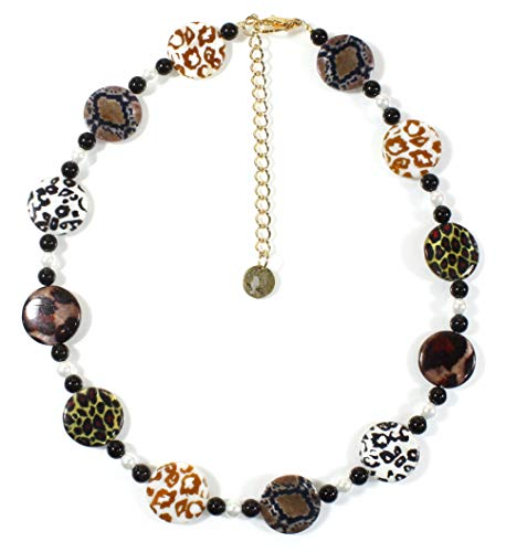 - Style-ARThouse Take Me on a Safari! Animal Print Necklace, 18 Inches