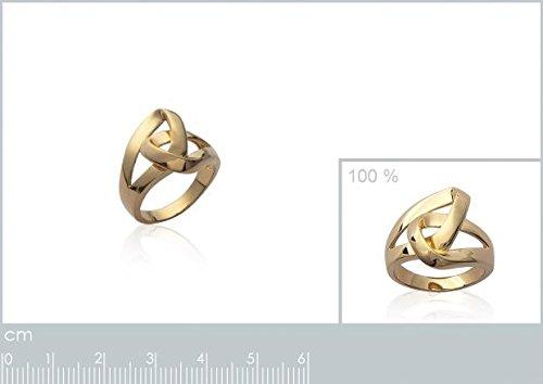 ISADY - Abane Gold - Bague femme - Plaqué Or 750/000 (18 carats)