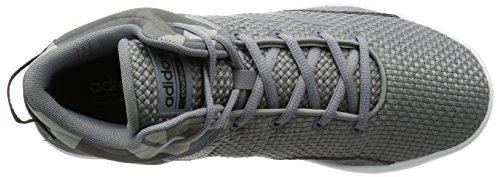 adidas NEO - Zapatillas de mezcla de tejidos para hombre grey/grey/core black