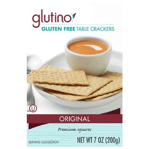 Glutino Crackers Free Gluten (Glutino Gluten Free Table Crackers 7 oz (Pack of 2))